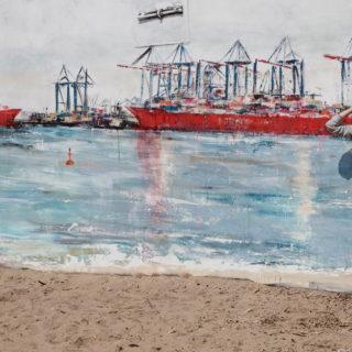 18 Meter Hafen auf Beton