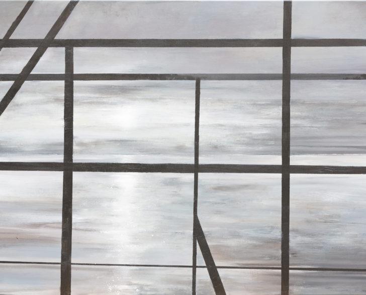 11. Blick 110 cm x 160 cm, Acryl auf Leinwand