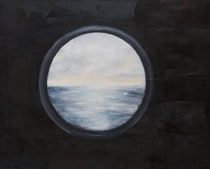 Fenster zum Meer 200 cm x 140 cm