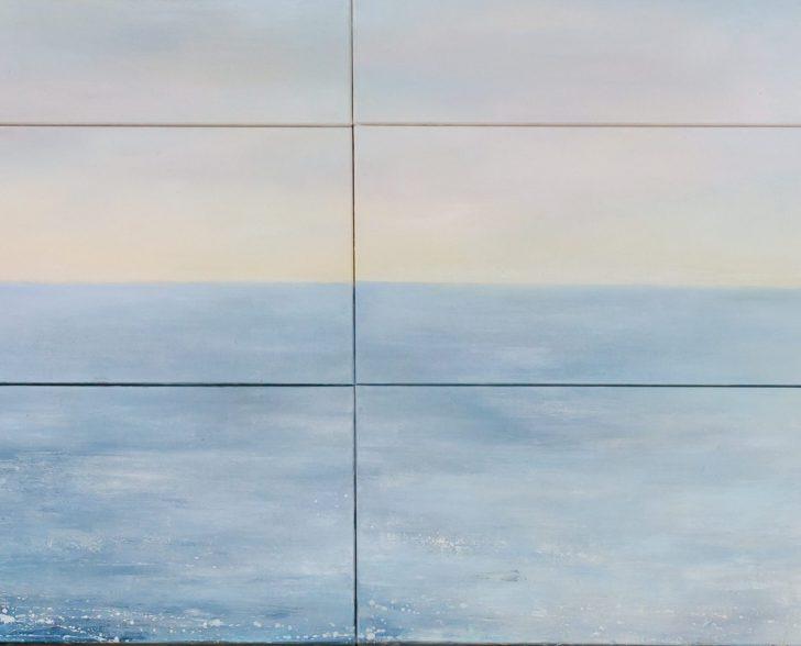 8. Einverstanden 350 cm x 100 cm, Öl auf Leinwand