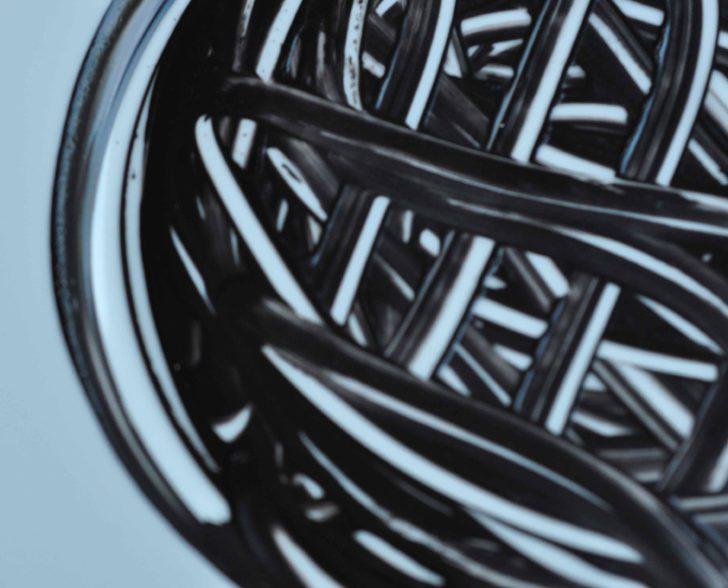 Porzellan Teller Ausschnitt II