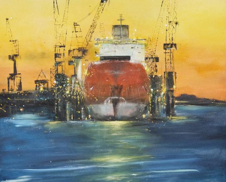 Dock2 120 cm x 90 xm