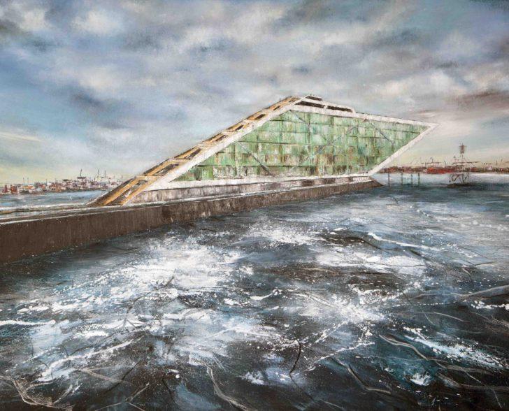 Dockland 180 cm x 140 cm