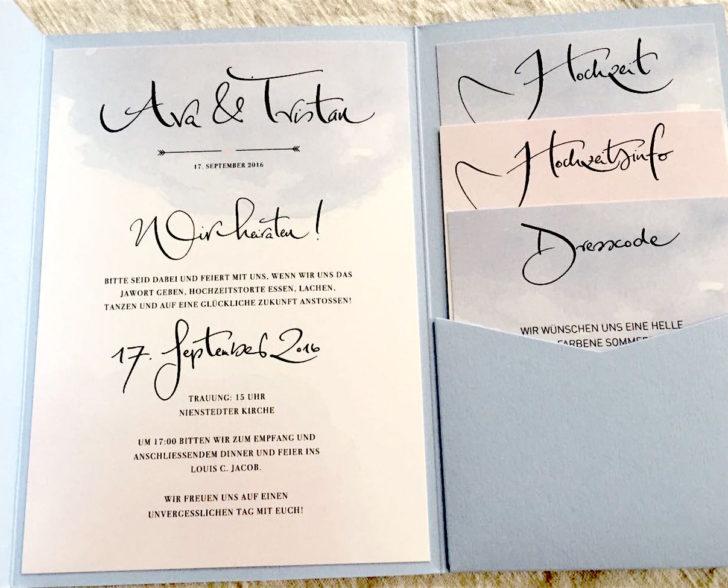 Einladung Set, Kooperation Confetti & Cream