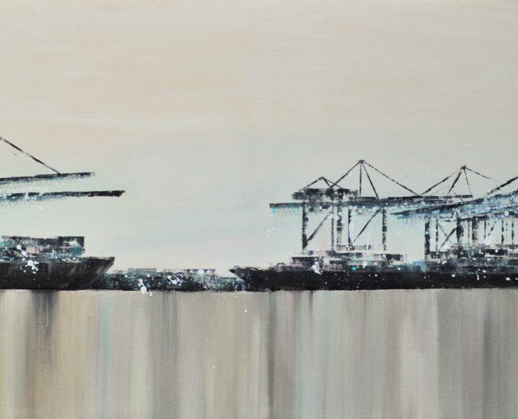 Hafenharmonie 160 cm x 80 cm
