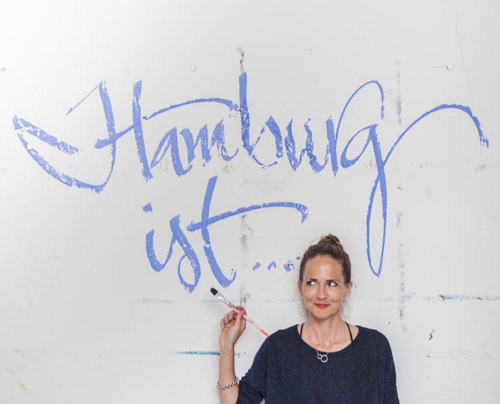 Suche nach Antworten auf die Frage: Hamburg ist ....Foto: Julia Löwe
