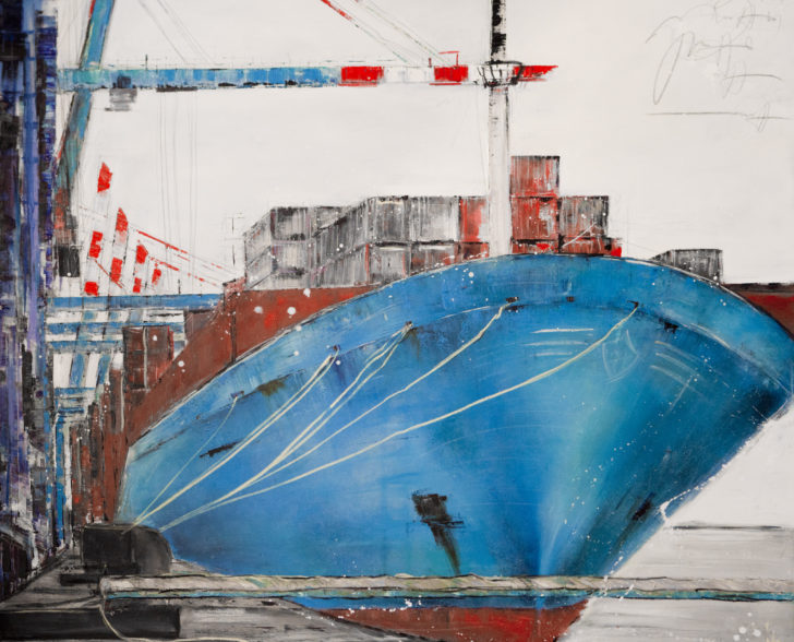 Maersk 140 cm x 140 cm