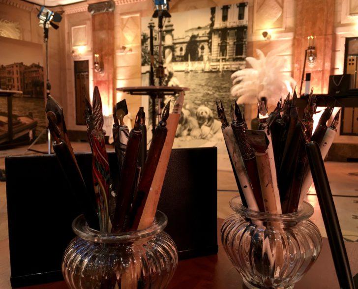 Peggy Guggenheim Kalligraphiewerkzeug