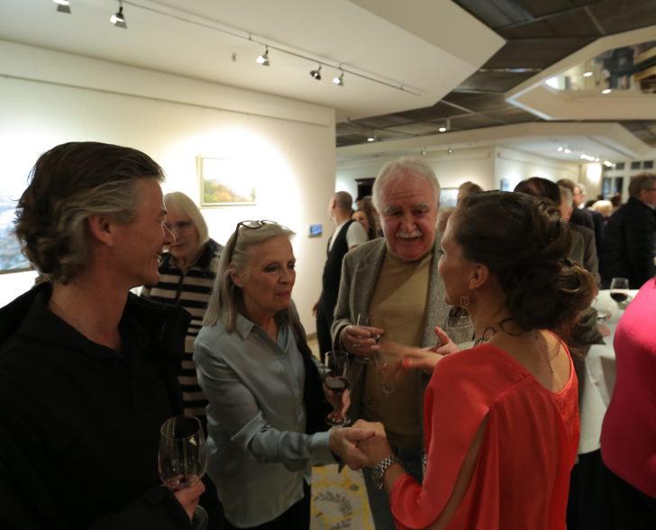 Robert Eder aus dem Ohnsorg Theater, Heidi Mahler und Michael Koch