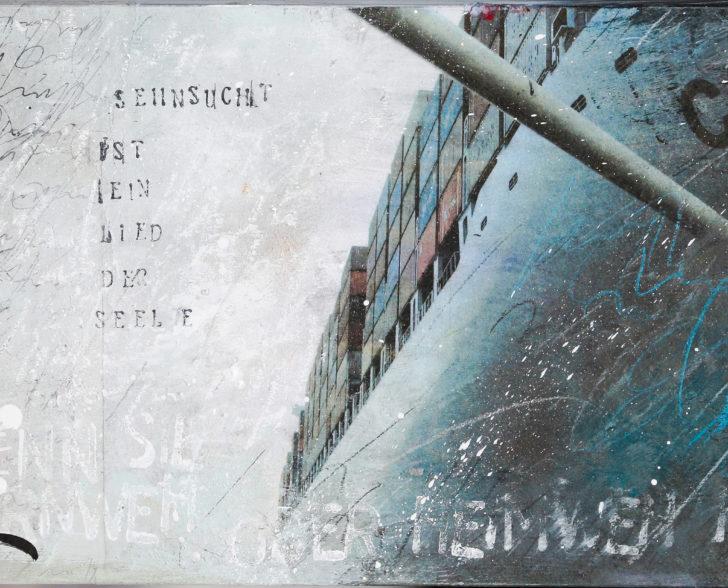 Sehnsucht ist ein Lied der Seele 40 cm x 60 cm