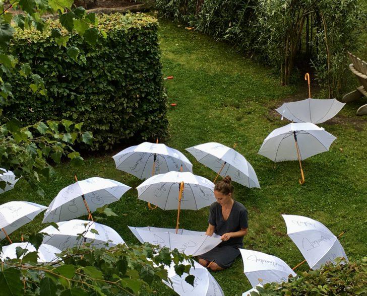 Produktion im Garten