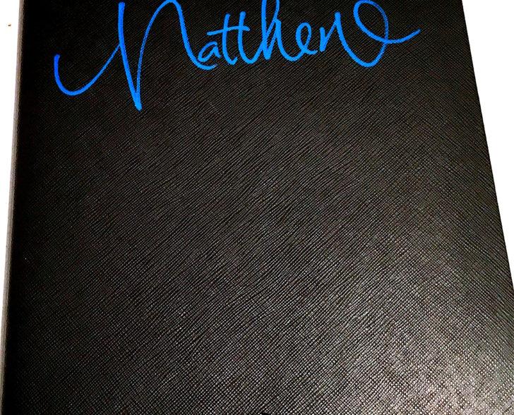 Montblanc Notizbuch