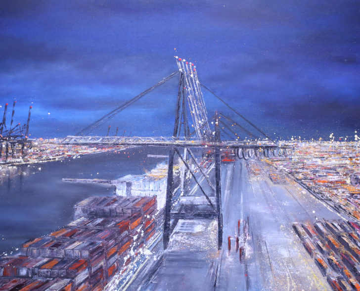 Containerbrücke Eurokai