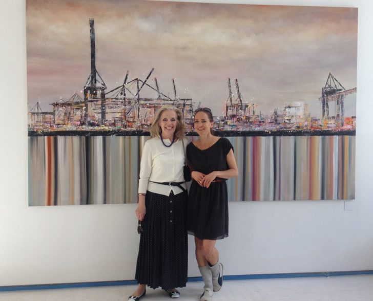 Besuch von Heidi Mahler