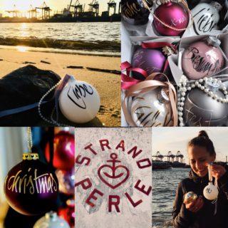 Strandperle-Weihnachtskugelaktion