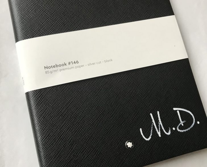 Initialen Notebook Montblanc