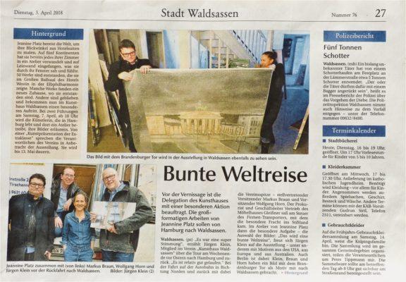 Tageszeitung Waldsassen DER NEUE TAG
