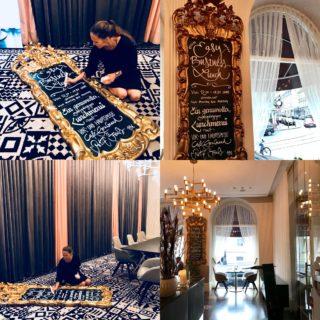 Kalligraphie Hotel Sans Souci Wien