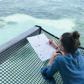 Mein Atelier im indischen Ozean