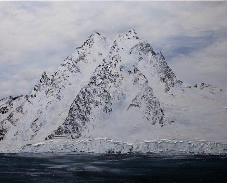 04 64°30.5´S III - 110 cm x 140 cm, Acryl auf Leinwand Kopie