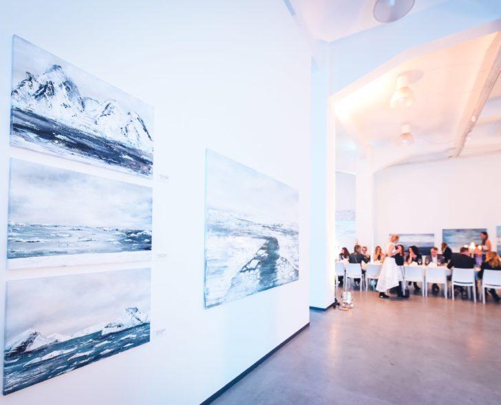 Bilder & Eiszeitdinner by Jeannine Platz & Nadine Geigle/ Barlach Halle K