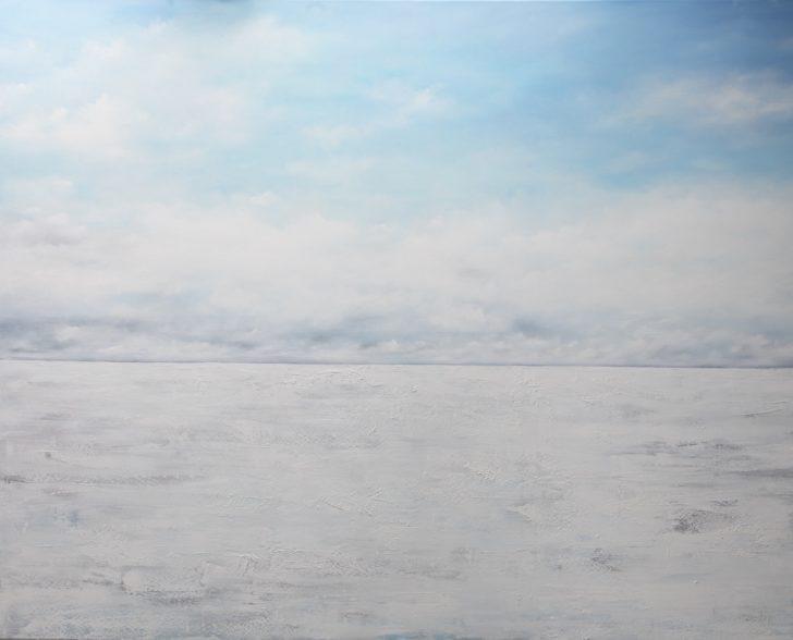 24 86°46.5´N - 160 cm x 200 cm, Öl auf Leinwand Kopie