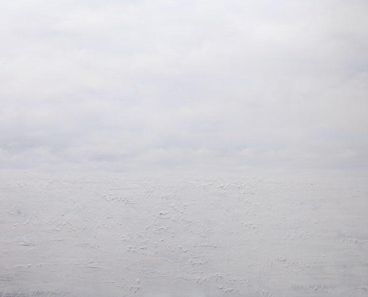 25 86°46.5´N II - 130 cm x 180 cm, Öl auf Leinwand Kopie