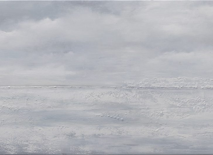 32 83°5.0´N - 50 cm x 180 cm, Öl auf Leinwand Kopie