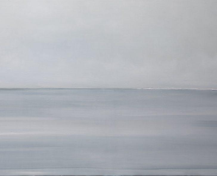 35 79°50.2´N - 70 cm x 140 cm, Acryl auf Leinwand Kopie