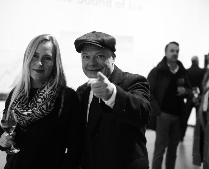 Vernissage Buchautor und Texter Torsten Lindner und Katja