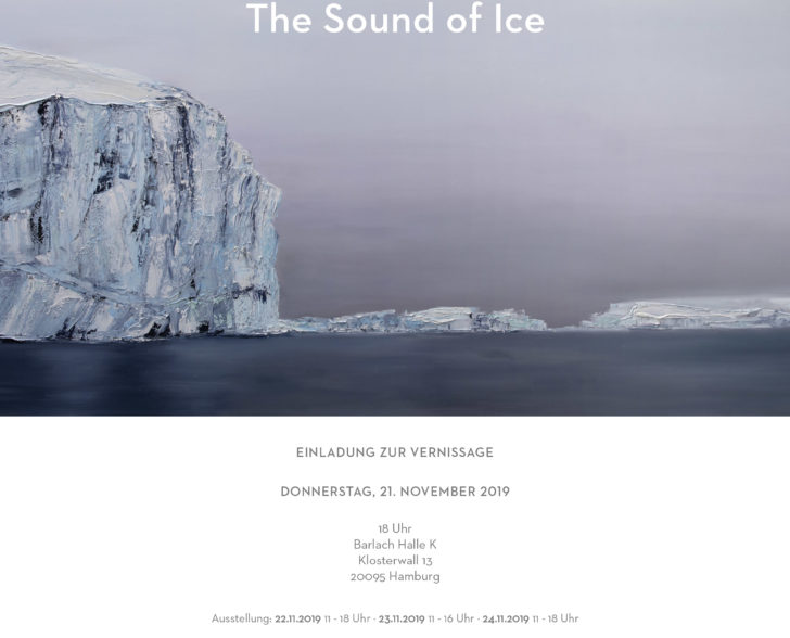THE SOUND OF ICE Einladung Vernissage