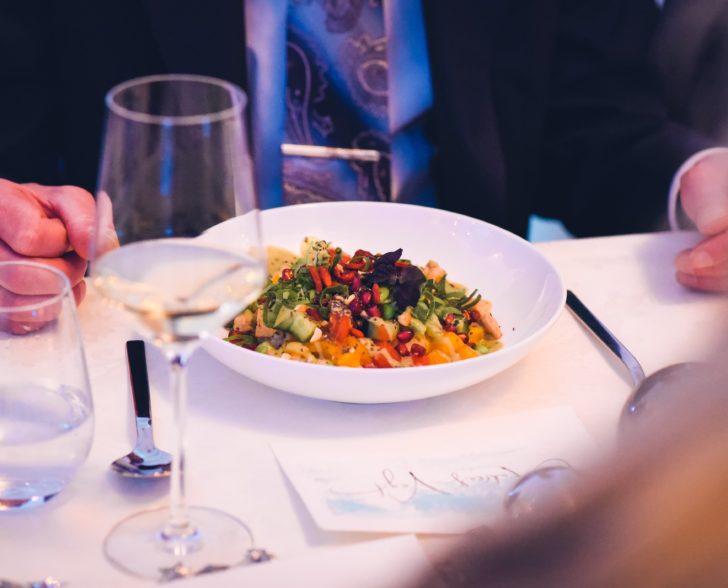 Vegetarisches Dinner THE SOUND OF ICE by Jeannine Platz & Nadine Geigle