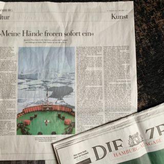 DIE ZEIT Hamburg Ausgabe/Kultur 30.1.2020